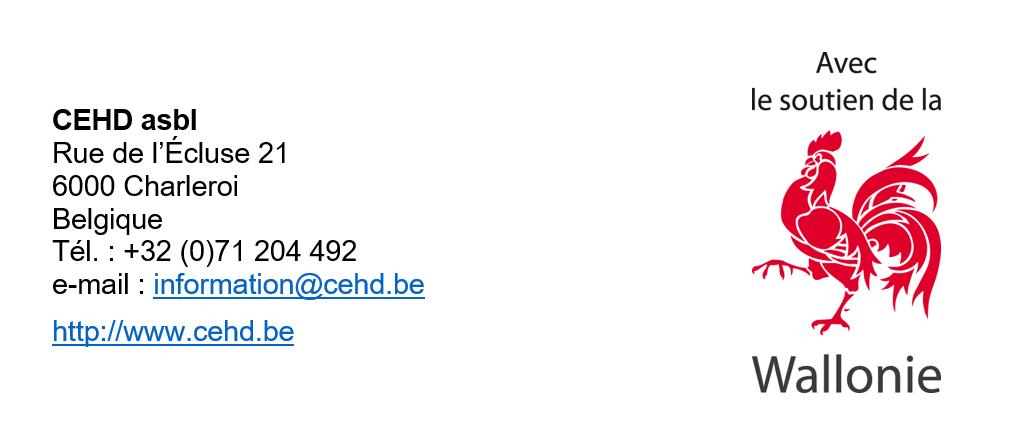 CEHD-Wallonie